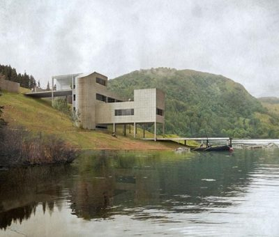 Le Corbusier inconcluso, Villa Harris