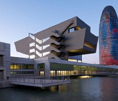 Museo del diseño Barcelona, dos perfiles urbanos