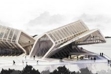 CAAT Architecture Studio, Media Complex, tecnne