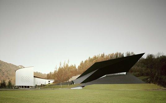Condiciones topogr ficas del sitio tecnne arquitectura for Festival hall in erl