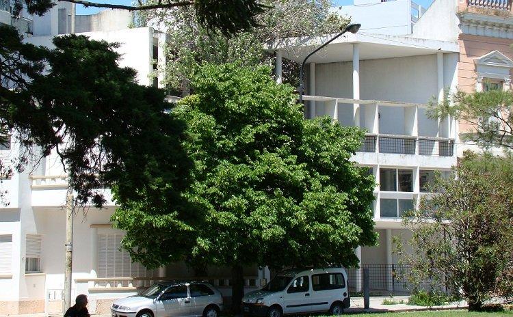 Le Corbusier, el sitio en Casa Curutchet