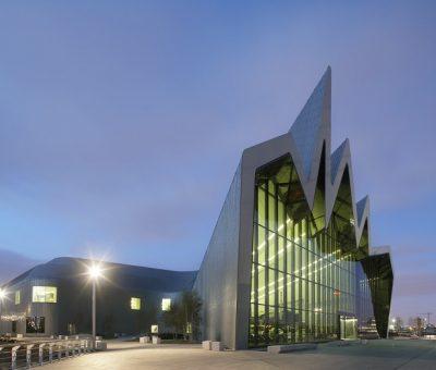 Zaha Hadid, museo del transporte de Riverside