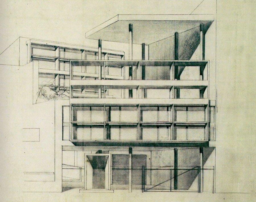 Casa Curutchet, memoria descriptiva