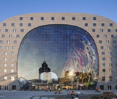 Markthal Rotterdam, audiovisual