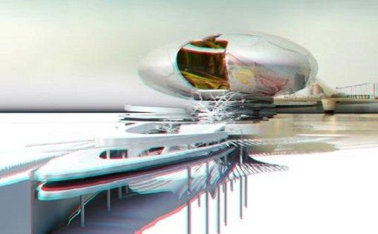 Escenarios Flotantes, diseños surreales