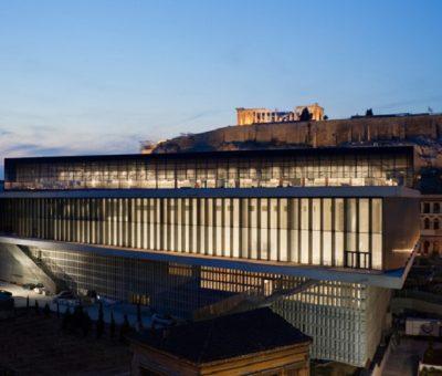 Tschumi, museo de la acrópolis