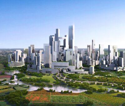 Adrian Smith y Gordon Gill, Ciudad satélite sostenible
