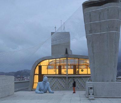 Homenaje a Le Corbusier en Marsella