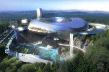 Coop Himmelblau, Dawang Mountain Resort Changsha, tecnne