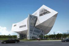 Daniel Libeskind, Zhang Zhidong Museum, tecnne