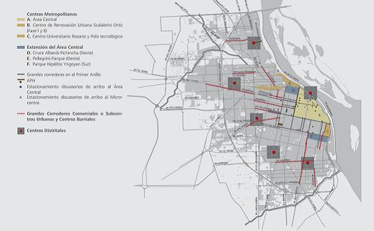 Plan urbano de Rosario
