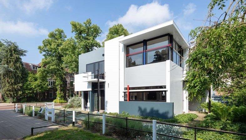Gerrit Rietveld, Schröder House, tecnne