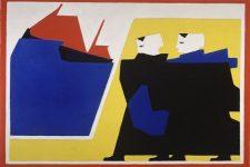 Van Der Leck, el color del neoplasticismo, tecnne