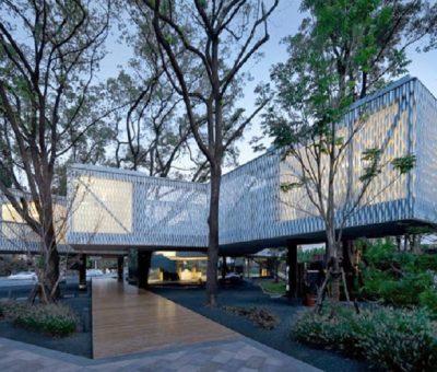 Centro de negocios Huaxin, convivencia objetiva
