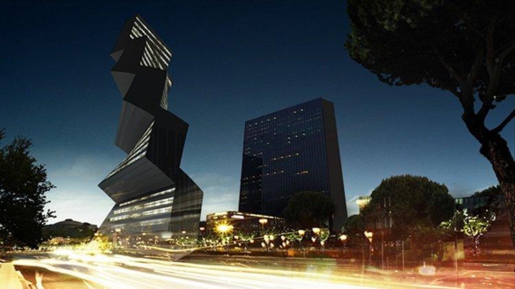 Paolo Venturella, Twilt tower, tecnne
