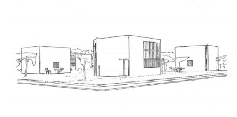 Le Corbusier, casa en serie para artesanos, Tecnne