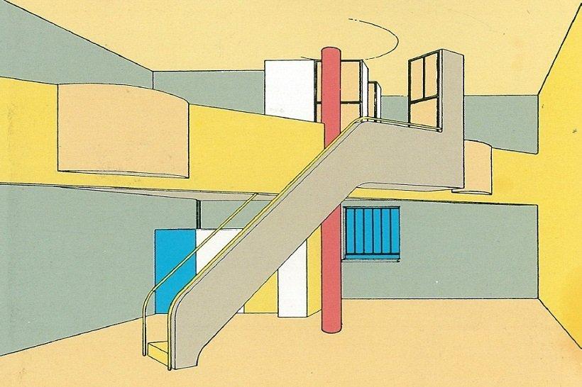 Le Corbusier, la dimension inesperada, tecnne