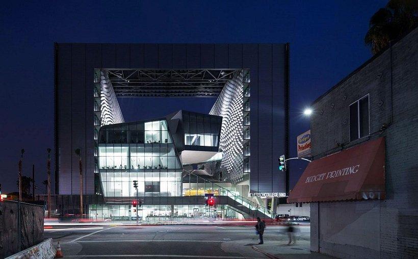 Morphosis, Emerson College Los Angeles, tecnne