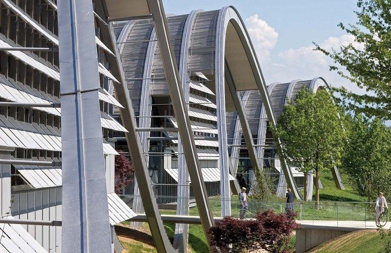 Renzo Piano, Zentrum Paul Klee, tecnne
