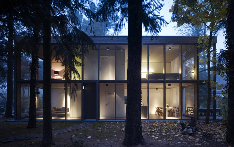 Scheidt Kasprusch, Minimum House, tecnne