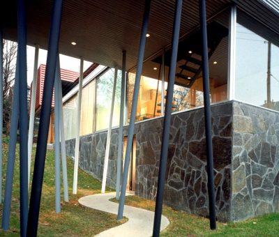 Koolhaas, encuadres cinemáticos en Villa Dall'ava