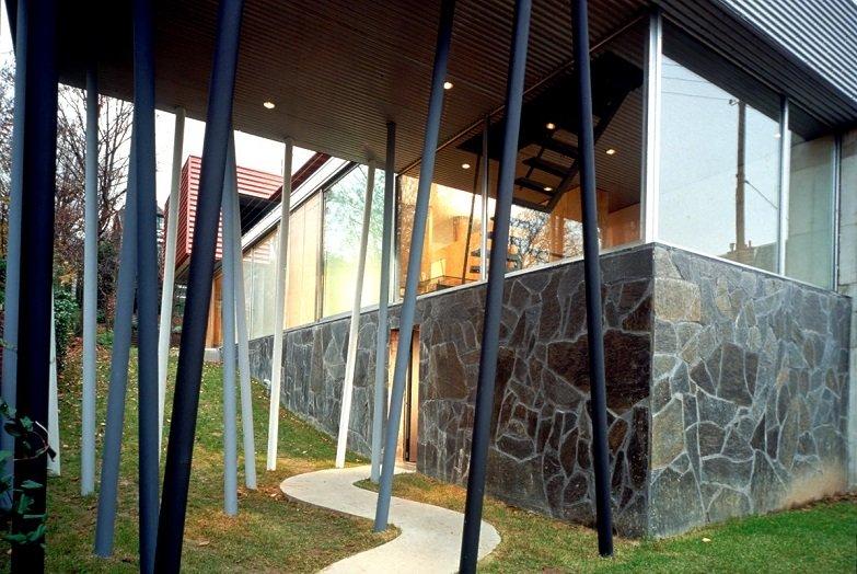 Rem Koolhaas, Villa Dall'ava, tecnne