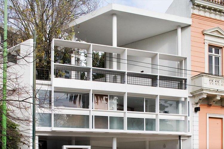 Casa Curutchet, planos de naturaleza pictórica