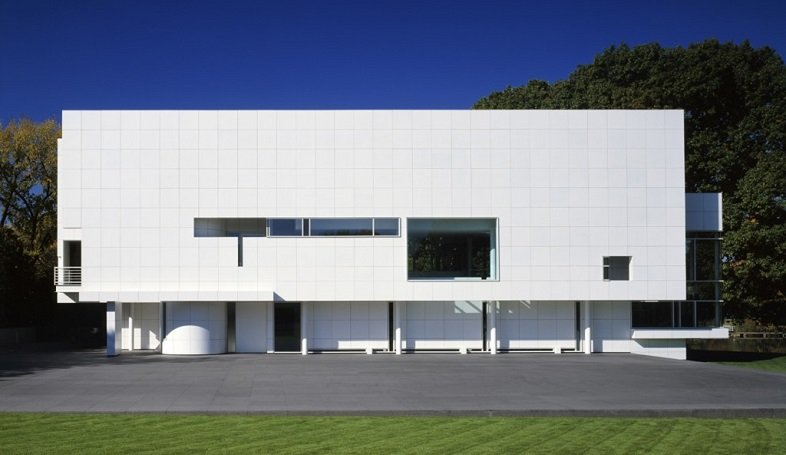 Raschofsky house Richard Meier Tecnne