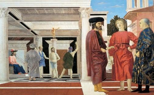 Piero della Francesca La flagelación de Cristo, TECNNE