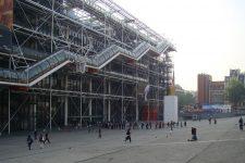 Renzo Piano, Richard Rogers, Centro Pompidou, tecnne