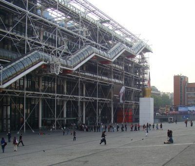 Centro Pompidou por Renzo Piano