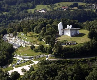 Ronchamp por Renzo Piano
