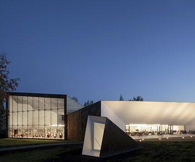 Ampliación de un Centro Cívico de Alvar Aalto