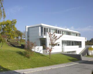 Richard Meier, dialogo intersticial