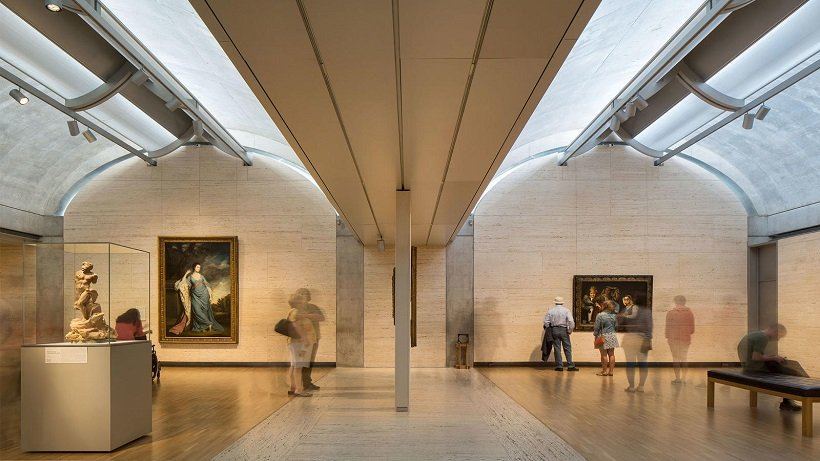 Louis Kahn. Kimbell Art Museum, tecnne