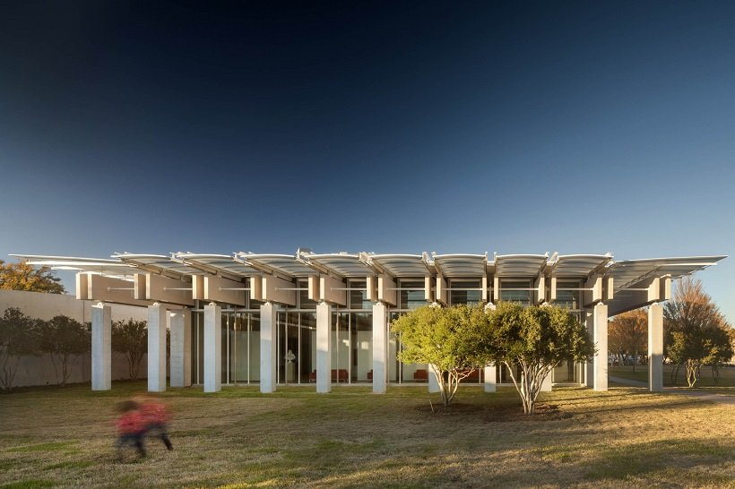 Renzo Piano, Ampliación del Kimbell Art Museum, tecnne