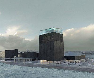 Guggenheim Helsinki, Pabellones cohesionados