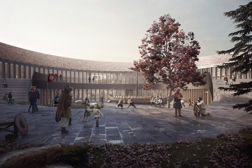 AART Architects, Viking Age Museum, tecnne
