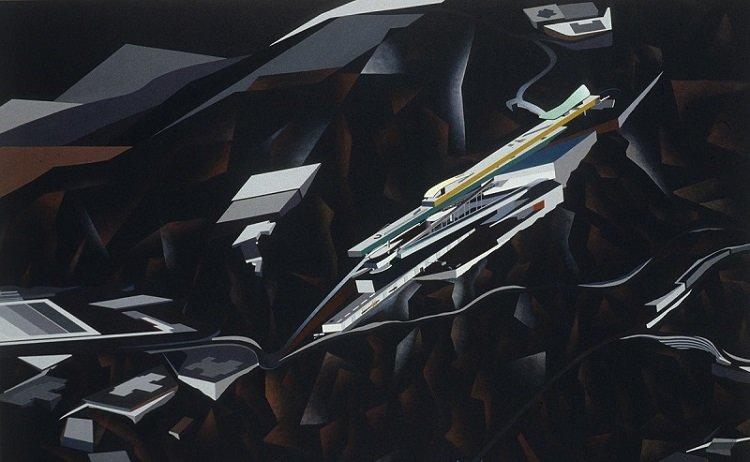Las distensiones del espacio en Zaha Hadid