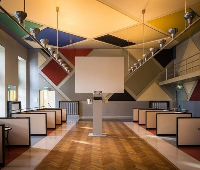 Café Aubette, Theo Van Doesburg
