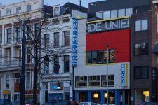 Jacobus Johannes Pieter Oud , Cafe De Unie, tecnne