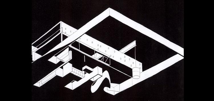 Rem Koolhaas, Maison a Bordeaux, tecnne