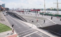 Zaha Hadid, Niederhafen River Promenade, tecnne