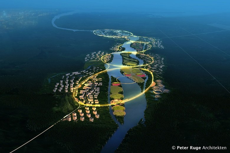Green Health City Proposal, Peter Ruge Architekten tecnne