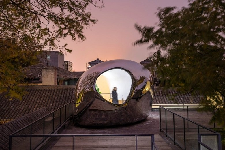 MAD Architects, Hutong Bubble 218, tecnne
