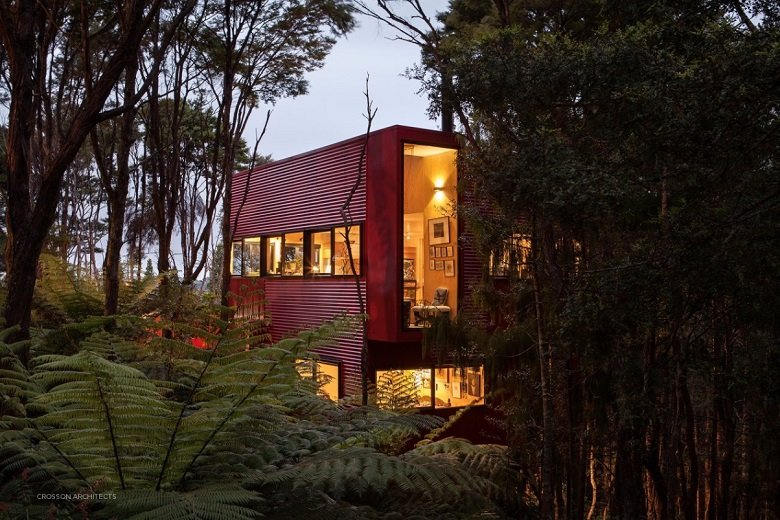 Red House, Crosson Architects tecnne