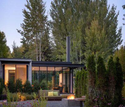 Casa que habla por los árboles