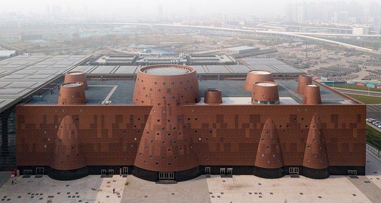 Tianjin Binhai Tschumi tecnne