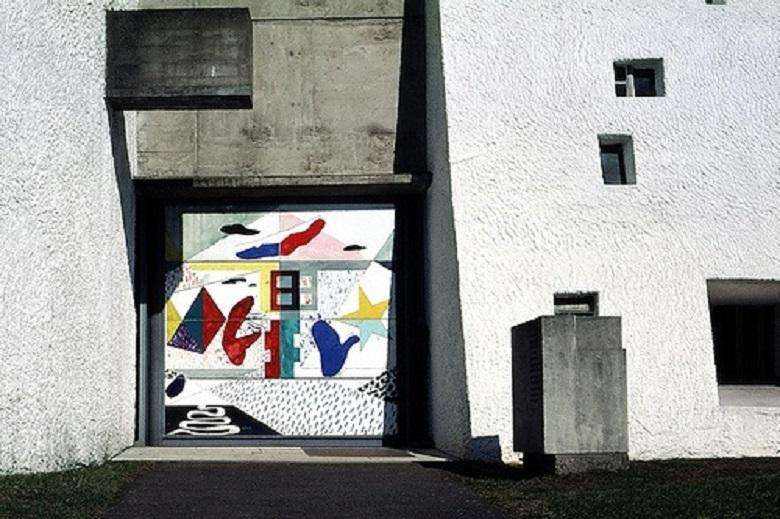Roncamp Le Corbusier tecnne