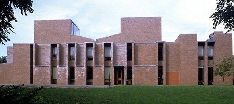 Louis Kahn, Iglesia Unitaria Rochester, tecnne